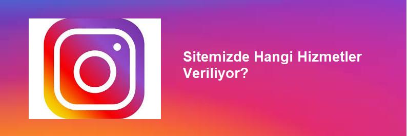 instagram hizmetleri