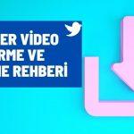 Twitter video indirme ve yükleme