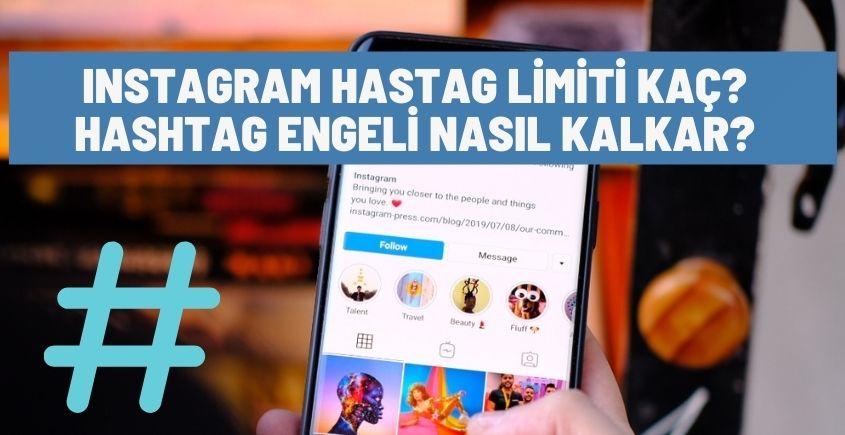 Instagram hashtag limiti