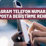 Instagram Telefon Numarası ve E-Posta Değiştirme